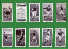 Tobacco Cigarette cards Association Footballers 1938